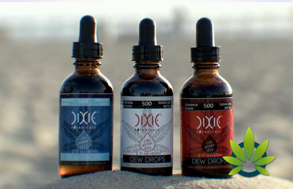 Dixie Botanicals CBD Products: Hemp Oil Drops, Vape Liquid and Balms