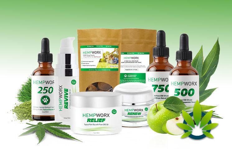 HempWorx CBD MLM Products