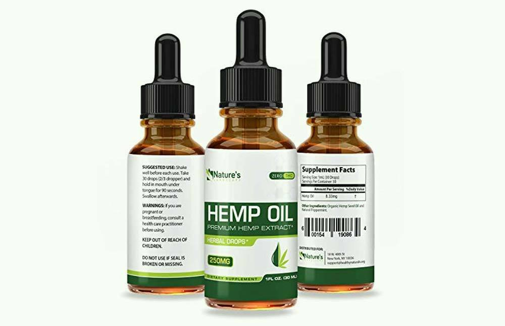 Nature's Landscape Hemp Oil