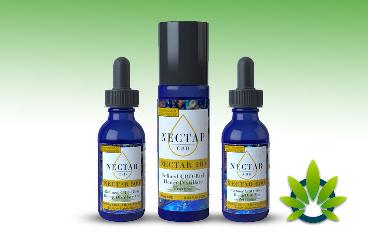 Nectar CBD Oil: Full Spectrum CBD-Rich Hemp Distillate