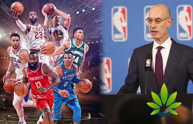 "New NBA Marijuana Policy Discussion by Adam Silver on The Full 48 Podcast Says to ""Follow the Science"""