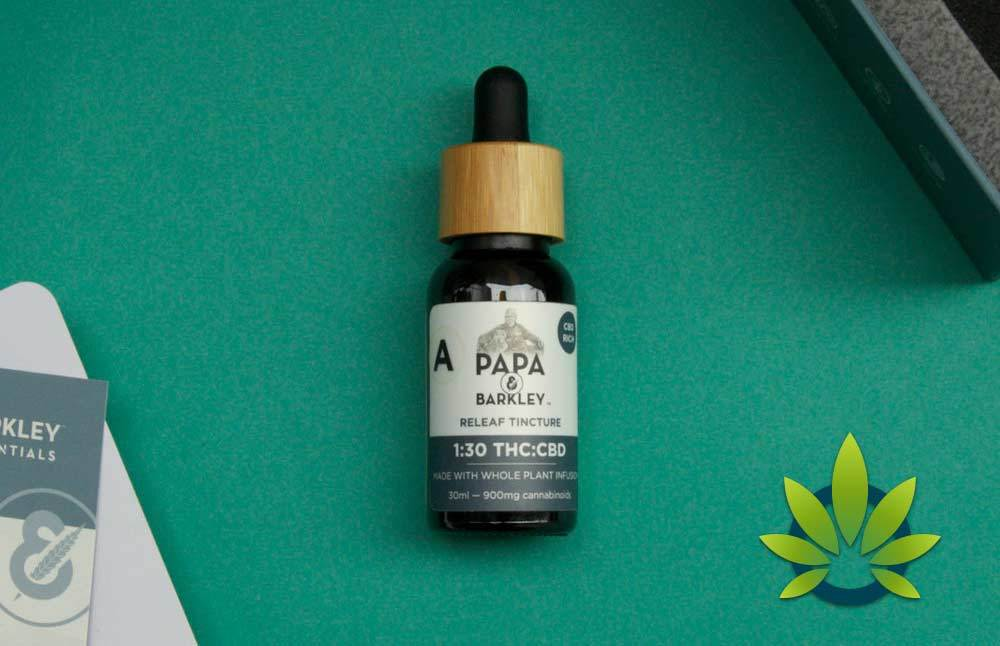 papa and barkley releaf cd oil tinctures