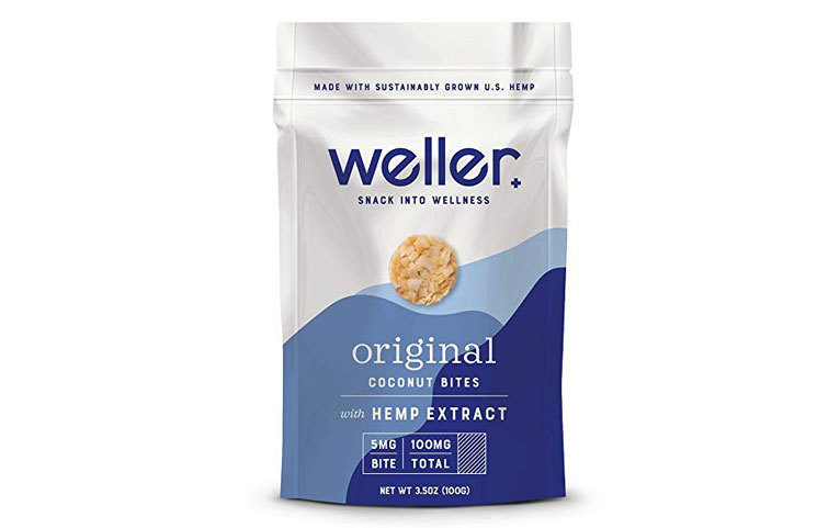 Weller Hemp Extract Coconut Bites