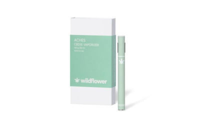 Wildflower Aches CBD Vaporizer