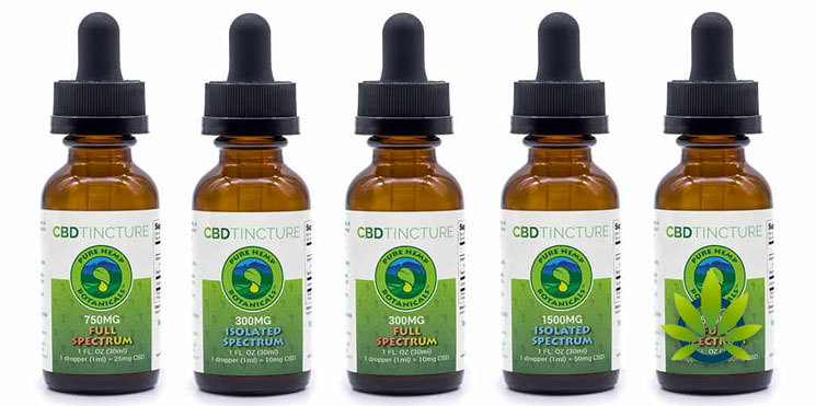 pure hemp botanicals tinctures