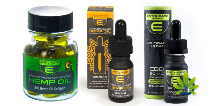 entourage hemp products