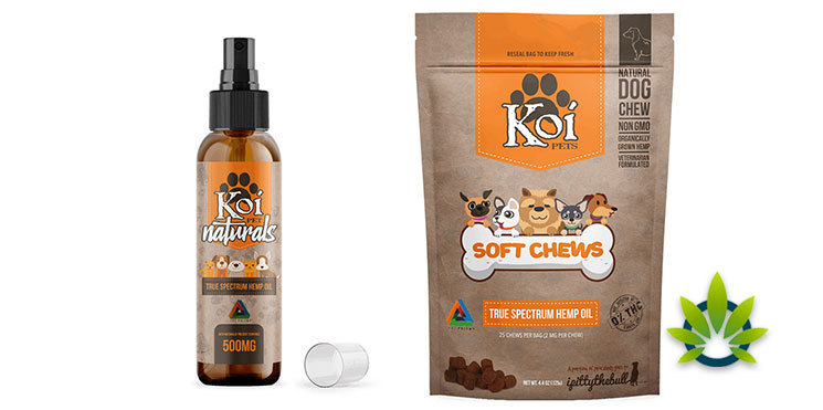 koi cbd pet products
