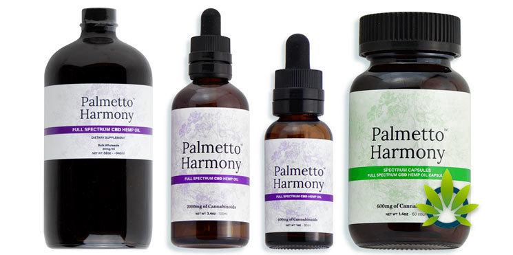 palmetto harmony cbd oils and capsules