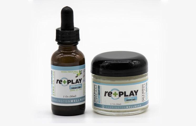 re+PLAY Hemp CBD Products