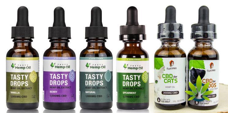 tasty hemp oil drops