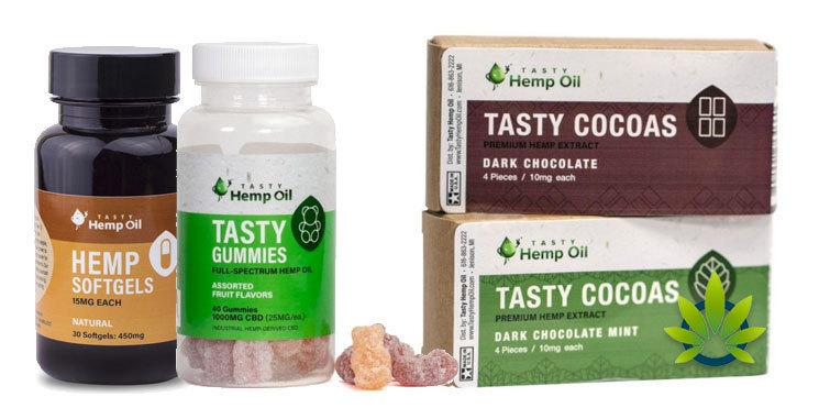 tasty hemp oil edibles