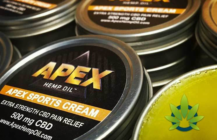 apex cbd sports cream