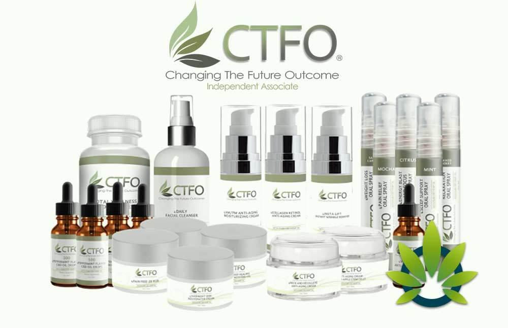 CTFO CBD Oil products