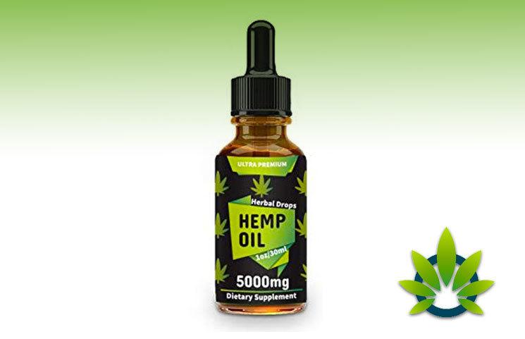 Canolane Organic Hemp Oil Drops