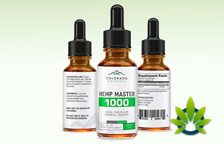 Colorado Movement Hemp Master 1000