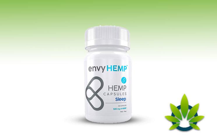 envy hemp sleep capsule