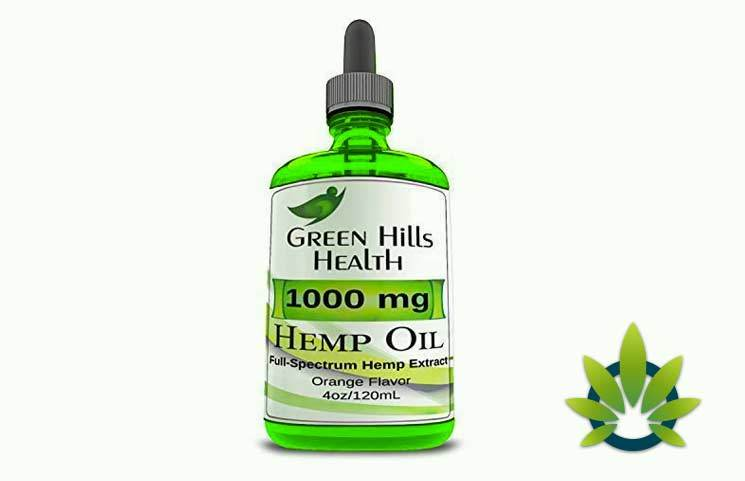 Green Hills Health Hemp Oil