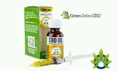 green zebra cbd hemp oil products