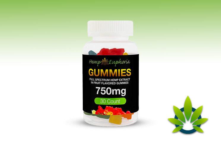 hemp euphoria full spectrum hemp extract gummies