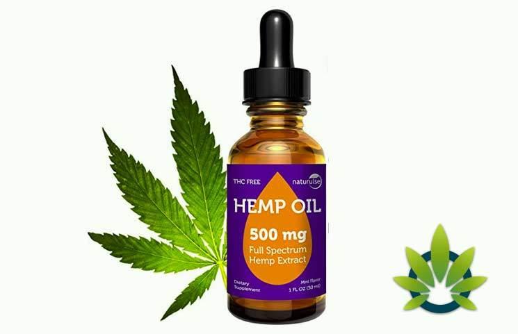 Naturulse Hemp Oil: Full Spectrum 500mg Natural Anti