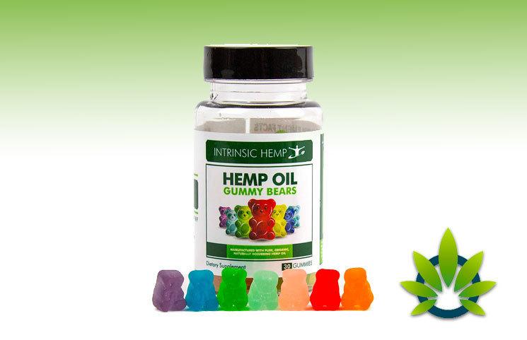 intrinsic hemp oil gummy