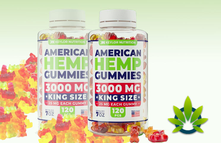 Keylor Nutrition American Hemp Gummies: Premium No-CBD Oil