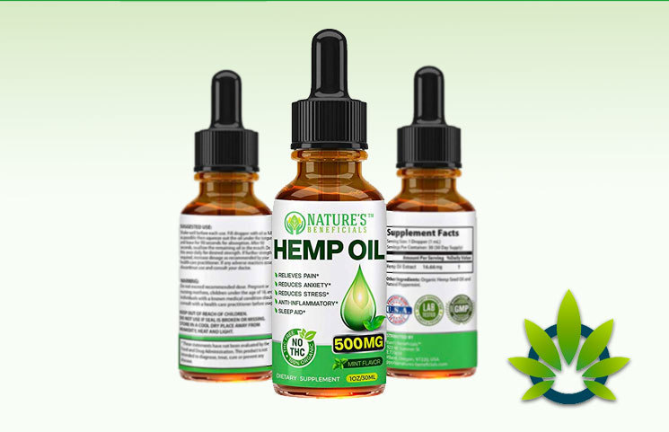 Nature's Beneficials Hemp Oil
