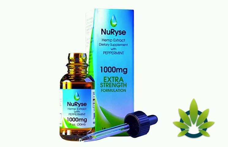 NuRyse Hemp Oil Extract