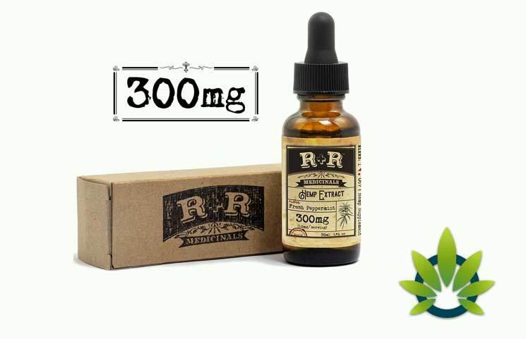 R+R Medicinals Hemp Oil