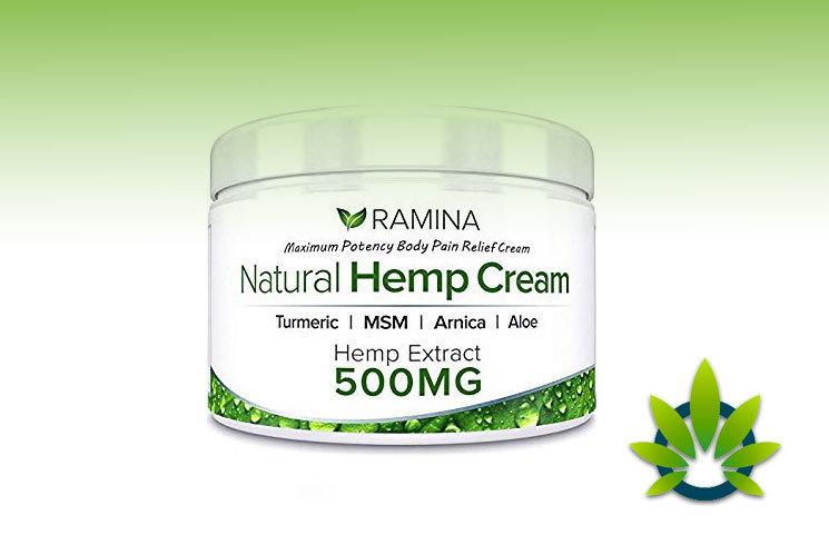 Ramina Naturel Hemp Cream: Hemp Salve Extract With MSM, Aloe