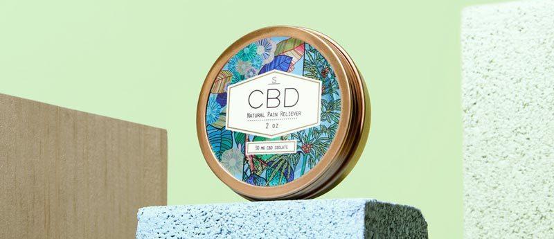 shea brand cbd pain reliever salve