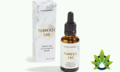 Wunder Workshop Turmeric CBD Oil