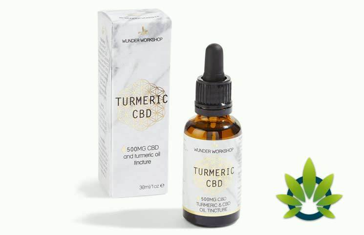 Wunder Workshop Turmeric CBD Oil