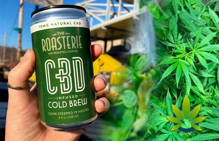 The Roasterie CBD Infused Cold Brew Coffee