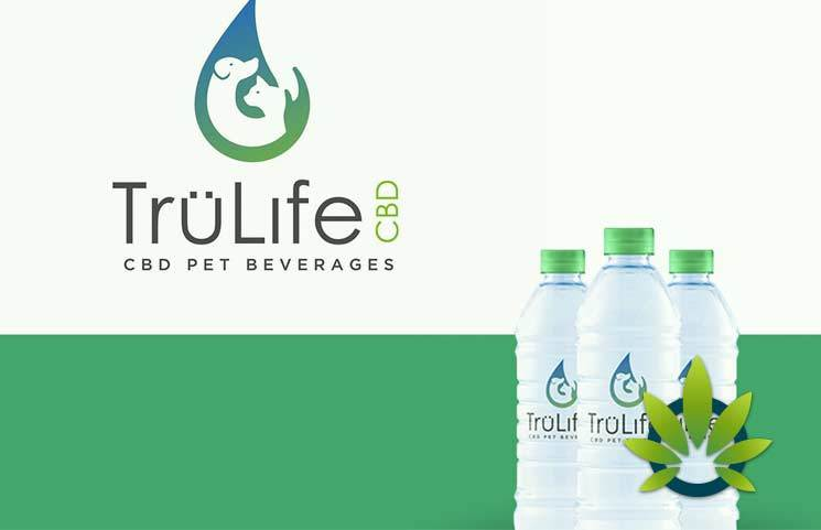 TruLife CBD Pet Beverages: Healthy Cannabidiol Drinks for Dogs, Cats and Horses