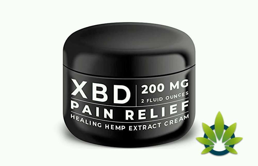 XBD Pain Relief Hemp Cream