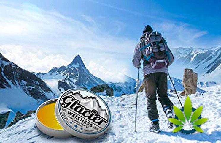 Glacier Wellness Hemp Muscle Salve