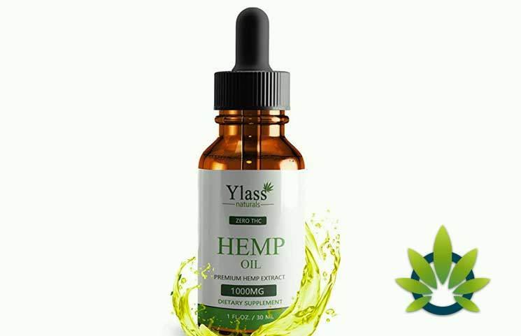 Ylass Naturals Hemp Oil