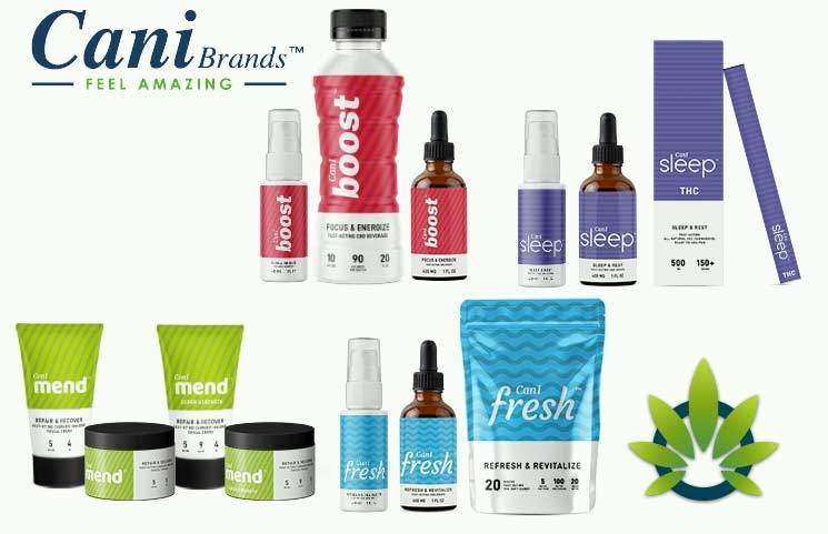 CaniBrands CBD: Analyzing Can-I Sleep, Mend, Fresh and Boost Cannabidiol Spray Products