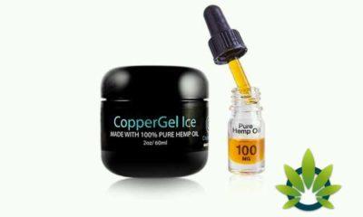 CopperGel Ice CBD Formula