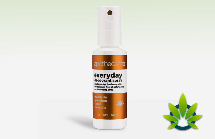Apothecanna Everyday Deodorant Spray