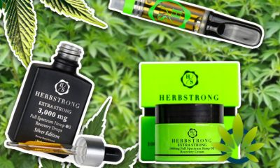 Herbstrong Full-Spectrum Hemp CBD Oil Products Aim to Deliver Extra Strong Recovery