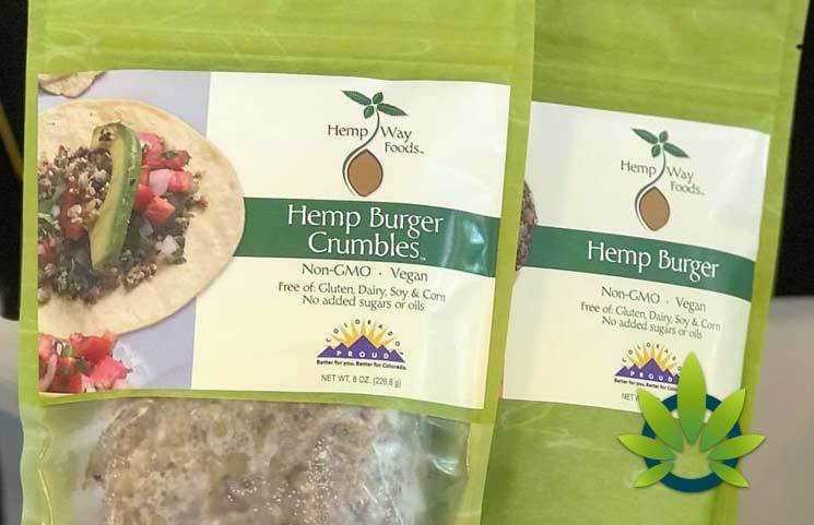 NOOCH Vegan Market Hemp Way Foods' Hemp Burger Crumbles
