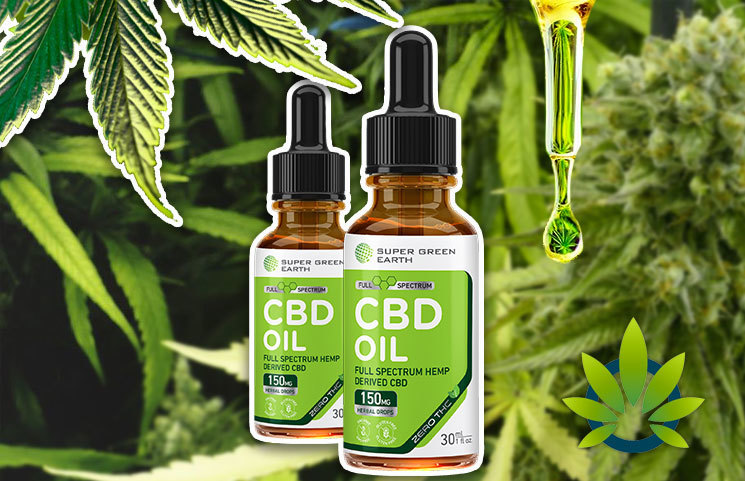 New Super Green Earth CBD Oil Products Claim to Provide Full-Spectrum Cannabidiol Ingredients
