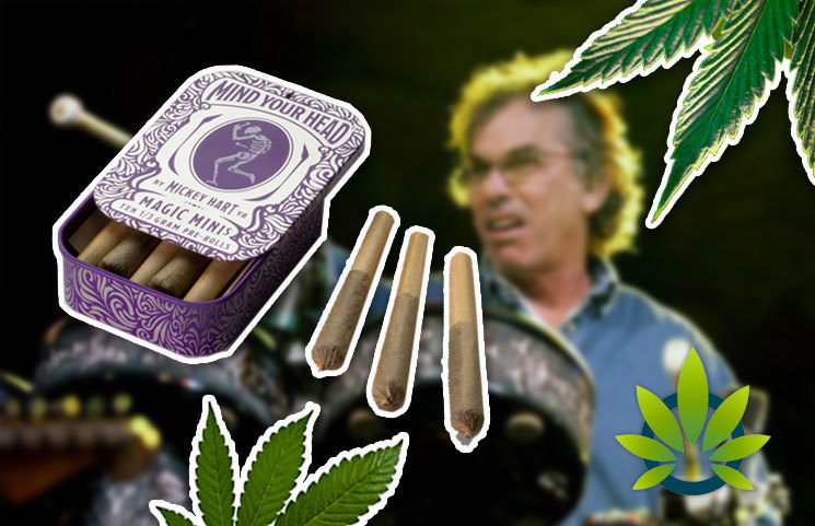 A New Cannabis Brand to be Launched by Grateful Dead Drummer Mickey Hart