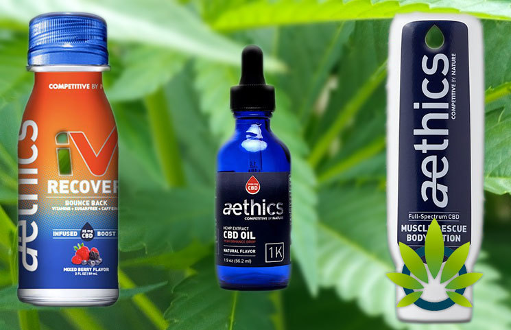 Aethics Athlete and Workout CBD