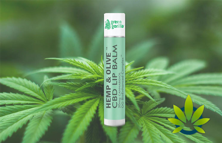 Green Gorilla Review - World's First CBD Lip Balm