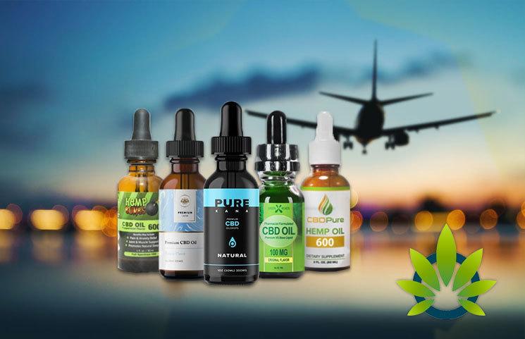 Hemp CBD Oil Acceptance on Flights Okayed by Transportation Security Administration (TSA)