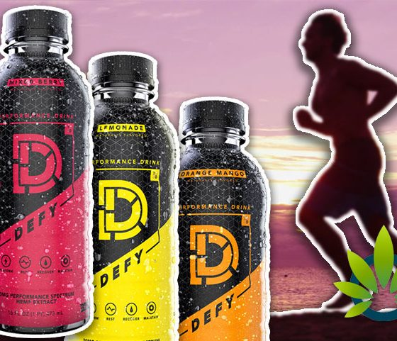 New DEFY CBD Performance Drink Launches to Restore Post Training Energy, Backed by Terrell Davis