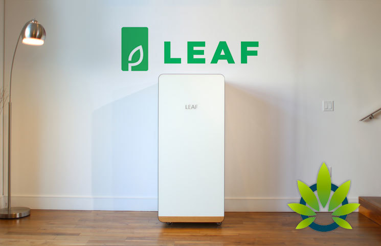 New Home Growing Cannabis Hardware Startup LEAF Raises $4.5 Million to Start Manufacturing